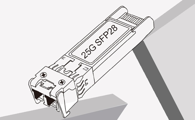 Types of 25G SFP28 transceivers and differences vs QSFP28 vs QSFP+